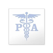 Caduceus PA (blue) Sticker