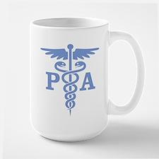 Caduceus PA (blue) Mugs
