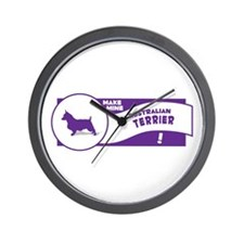 Make Mine Aussie Wall Clock