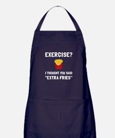 Exercise Extra Fries Apron (dark)