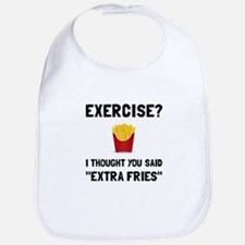 Exercise Extra Fries Bib