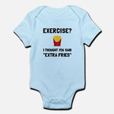 Exercise Extra Fries Body Suit