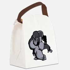 Angry Gorilla Canvas Lunch Bag