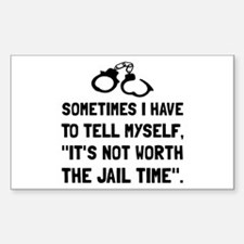 Jail Time Decal