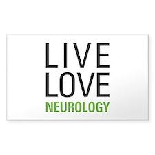 Live Love Neurology Decal