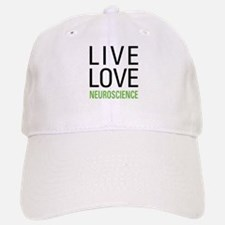 Live Love Neuroscience Baseball Baseball Cap