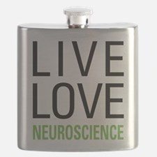Live Love Neuroscience Flask