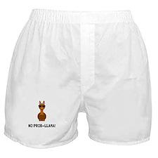 No Prob Llama Boxer Shorts