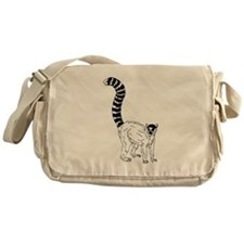 Ring Tailed Lemur Messenger Bag
