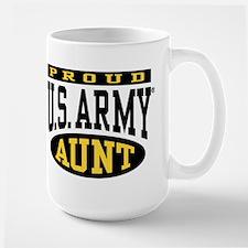 Proud U.S. Army Aunt Large Mug
