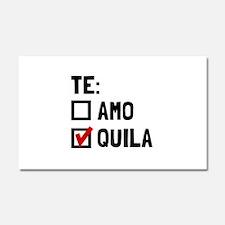 Te Quila Car Magnet 20 x 12