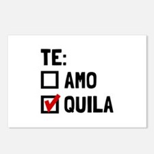 Te Quila Postcards (Package of 8)