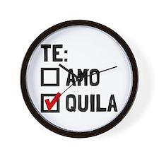 Te Quila Wall Clock