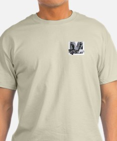Heavy Metal M (pkt) Ash Grey T-Shirt