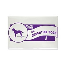 Make Mine Dogo Rectangle Magnet (100 pack)