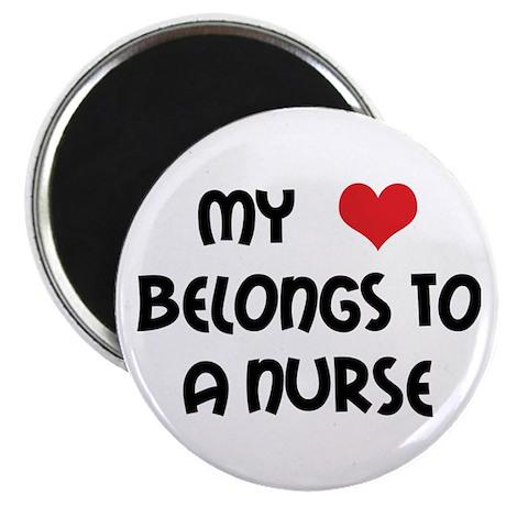I Heart Nurses Magnet