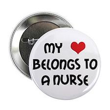 "I Heart Nurses 2.25"" Button (10 pack)"