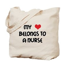 I Heart Nurses Tote Bag