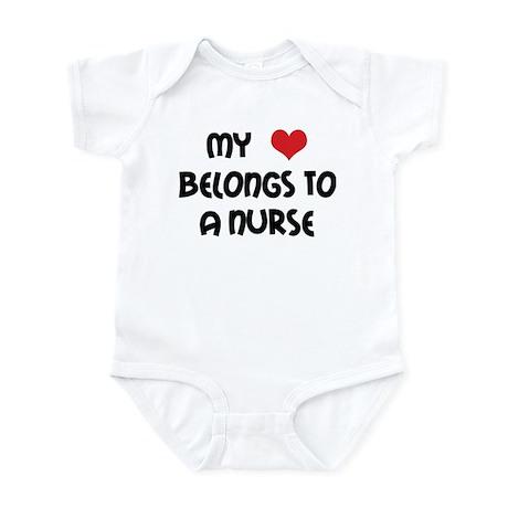 I Heart Nurses Infant Bodysuit