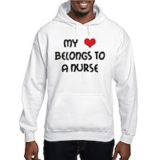 I Heart Nurses Hoodie