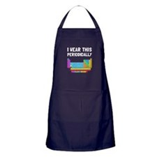Wear This Periodically Apron (dark)