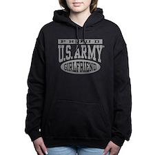 Proud U.S. Army Girlfrie Women's Hooded Sweatshirt