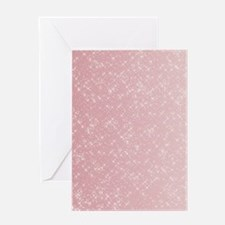 Pink Sparkles Greeting Cards