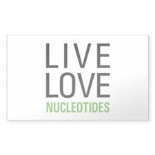 Live Love Nucleotides Decal