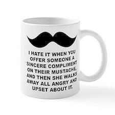 Mustache Moustache Compliment Mugs