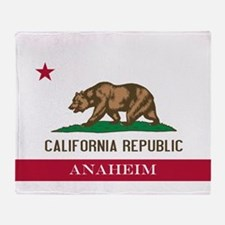 Unique Anaheim Throw Blanket