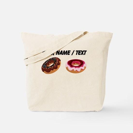 Custom Donuts Tote Bag