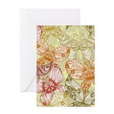 Trendy Butterflies Greeting Cards