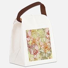 Trendy Butterflies Canvas Lunch Bag