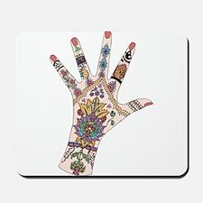 DRs Mehndi hand Mousepad