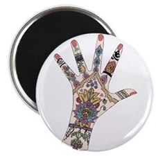 DRs Mehndi hand Magnets