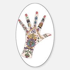 DRs Mehndi hand Decal