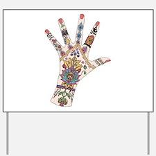 DRs Mehndi hand Yard Sign