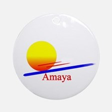Amaya Ornament (Round)
