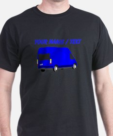 Custom Blue Transporter Van T-Shirt