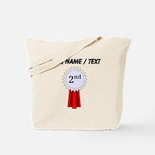 Custom 2nd Place Ribbon Tote Bag