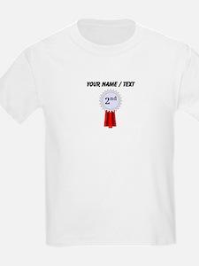 Custom 2nd Place Ribbon T-Shirt