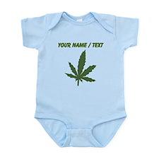Custom Green Weed Leaf Body Suit