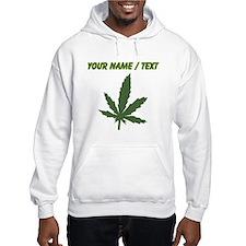 Custom Green Weed Leaf Hoodie