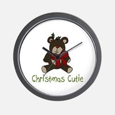 Christmas Cutie Wall Clock