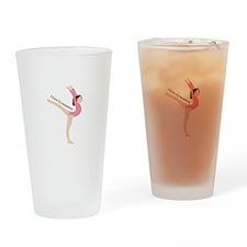 I Love Gymnastical Drinking Glass