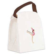 Rock Star Gymnast Canvas Lunch Bag