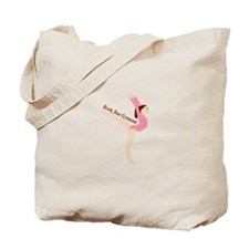 Rock Star Gymnast Tote Bag