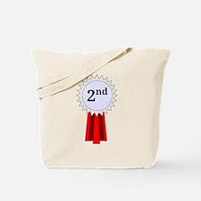 2nd Place Ribbon Tote Bag