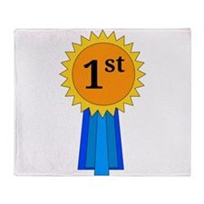 1st Place Ribbon Throw Blanket