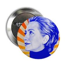"""Hillary Clinton 2.25"""" Button"""
